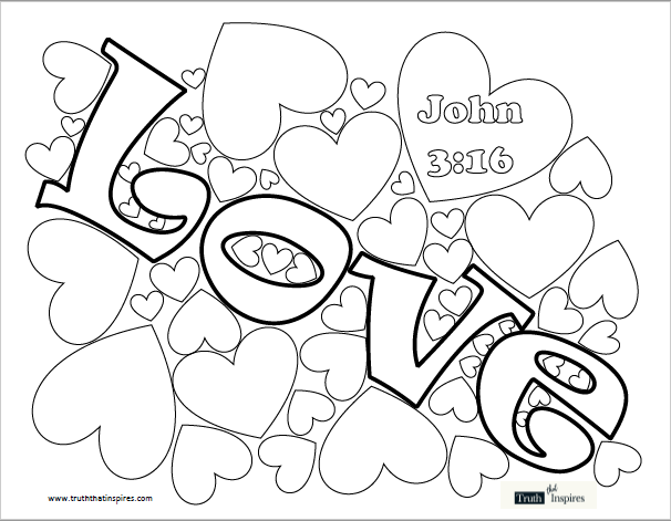 love coloring page truth that inspires love coloring page truth that inspires